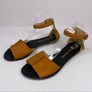 Electric Karma Roman Boho Brown Sandals